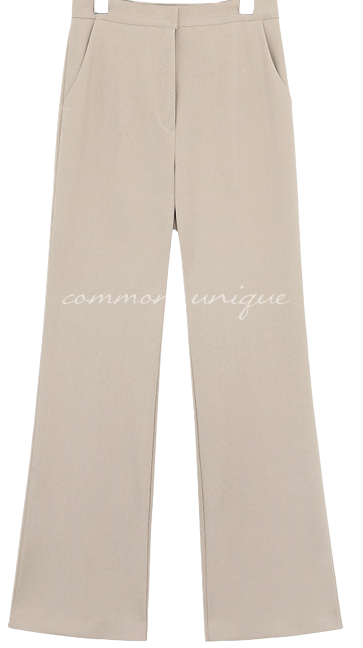 SELVIA SEMI BOOTS LONG SLACKS