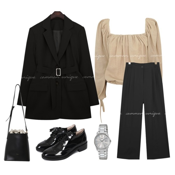 MIXXMIX LTP-1183A,From Beginning Any various three-way bag_M (size : one),biznshoe Tassel string loafer등을 매치한 코디