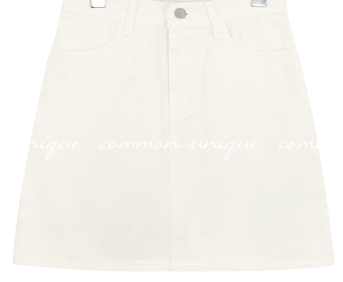 RODBIN COTTON MINI SKIRT