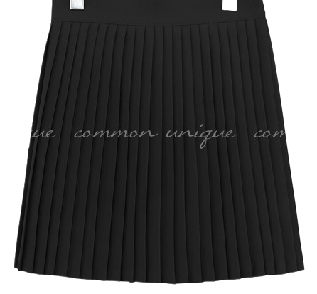 CELLODY PLEATS BANDING MINI SKIRT