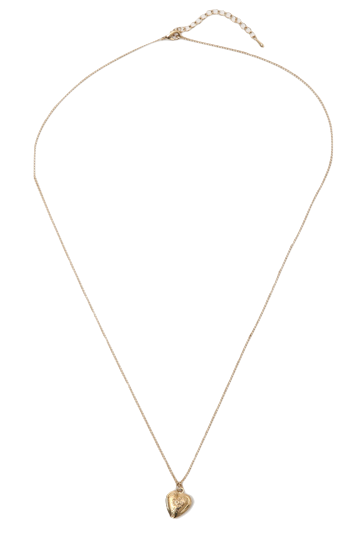 mini point love necklace_C