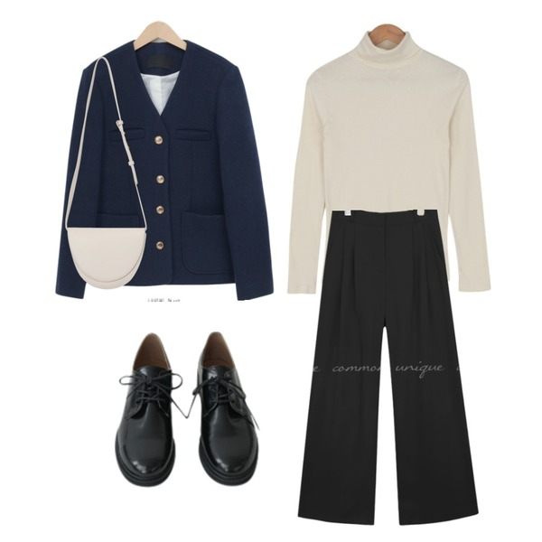 AFTERMONDAY glossy daily oxford shoes,From Beginning Second round shape bag_C (size : one),BULLANG GIRL 신후라이스목폴라T등을 매치한 코디