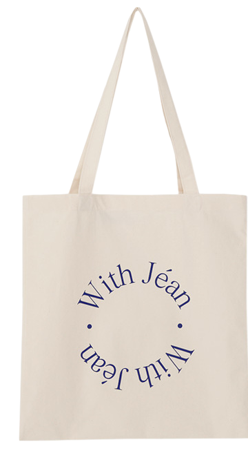 Lettering with eco bag_C