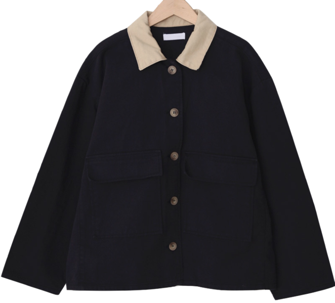Maron doll color jacket_U (size : free)