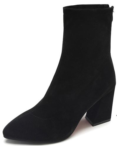 DO suede sock ankle boots