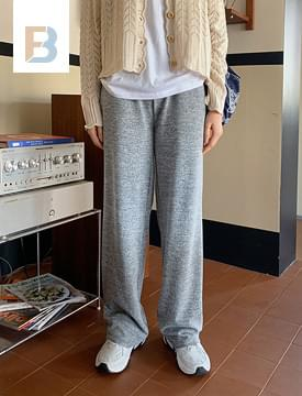Bending loose fit straight pants パンツ