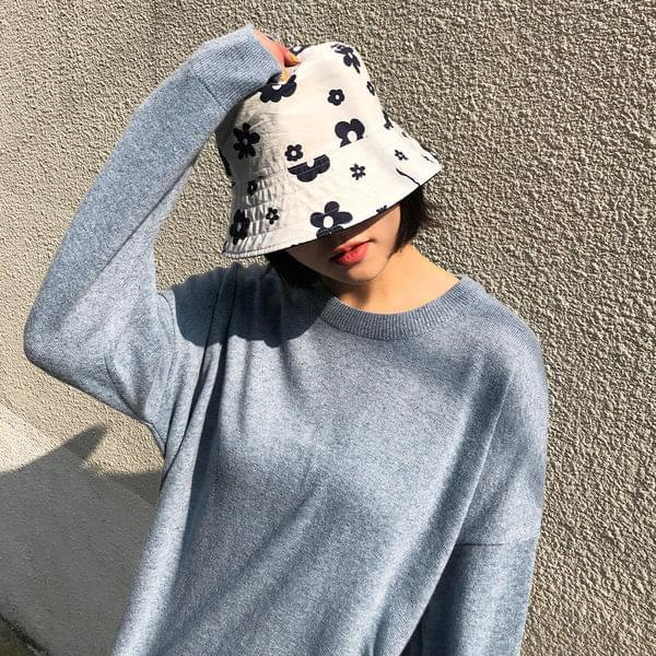 Reversible Flower Bucket Hat 帽子