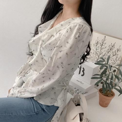 Ruffle Flow Blouse