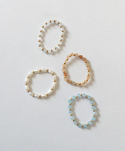 beads ring リング