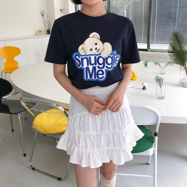 Snuggle printed t-shirt 短袖上衣
