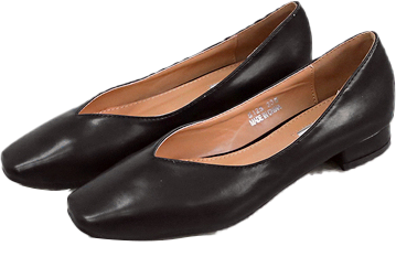 2 - TYPE SQUARE V LINE SHOES