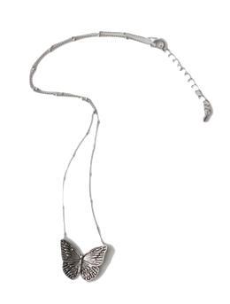 butterfly vintage necklace