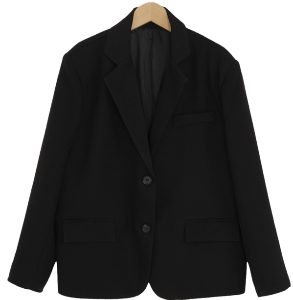 Modern Basic Single Jacket