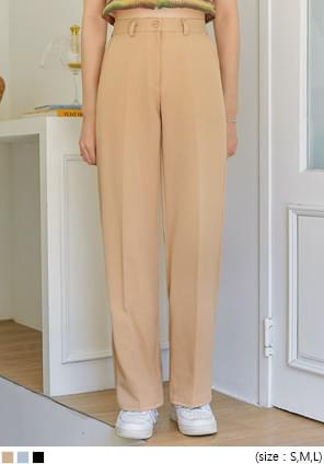 MIR SEMI WIDE LONG SLACKS