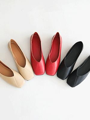Le ENG 2 Way Flat Shoes 1cm