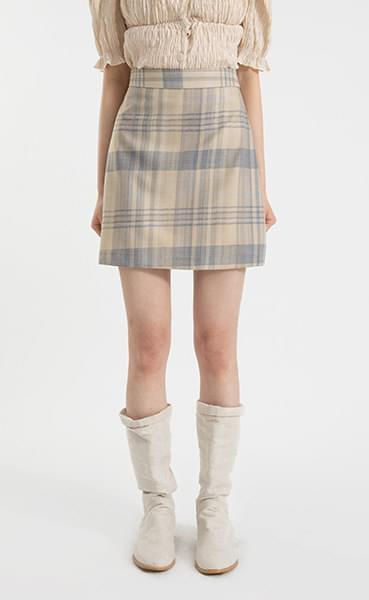 Sailor Check Mini Skirt