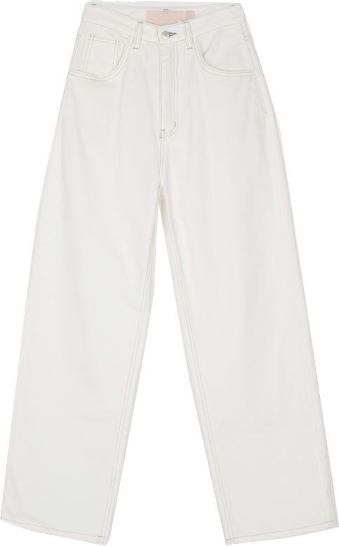 Basic Long Wide Cotton Pants