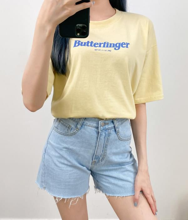 Butter Finger Short Sleeve T-Shirt 短袖上衣