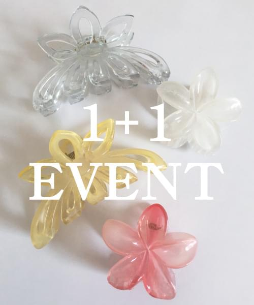 (made lavenir) hair pin 1+1 event