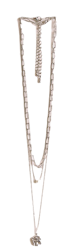 WAKE SIMPLE LAYERED NECKLACE ネックレス