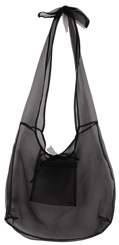 Rich See Through Eco Bag キャンバスバック
