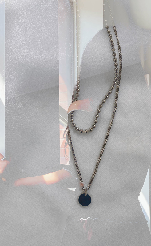 Layered eve necklace