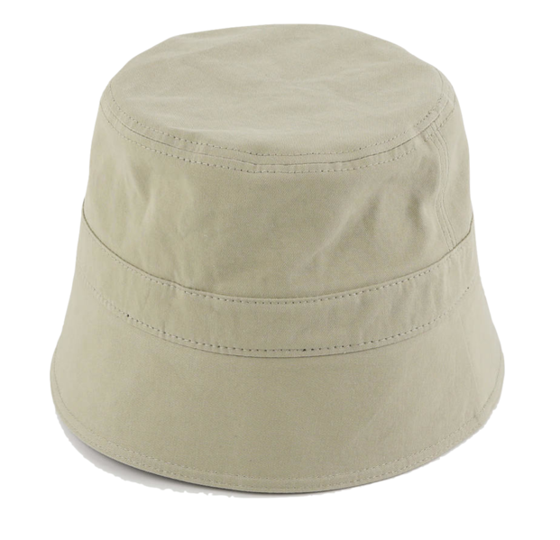 Down cotton bucket hat