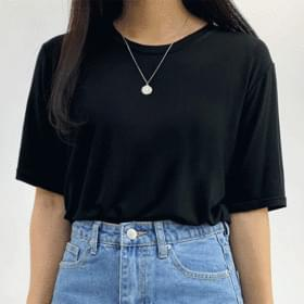 Day Basic Plain Short Sleeve Tee