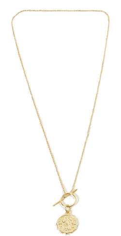 Coin pendant chain necklace necklace