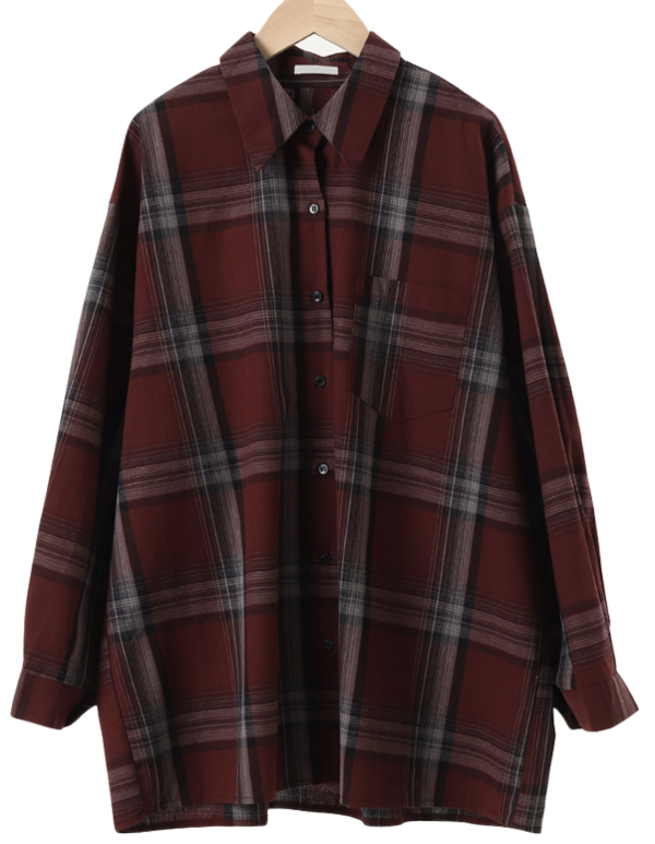 Most Overfit Check Shirt