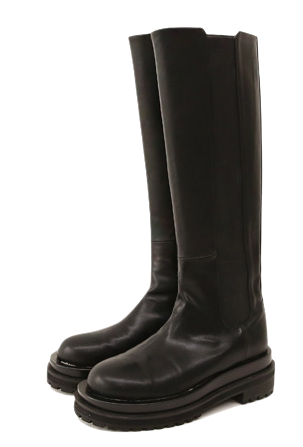 CHUNKY BANDING LONG BOOTS