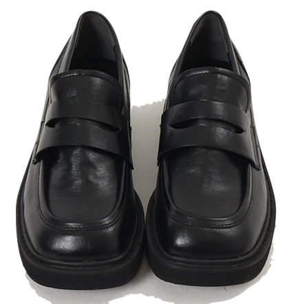 Gentle Square Penny Loafers