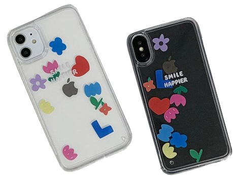 Flower Water Moving iPhone Case