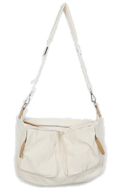 Ready-to-pocket shoulder bag