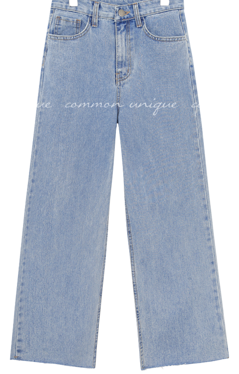 LAND CUTTING DENIM PANTS