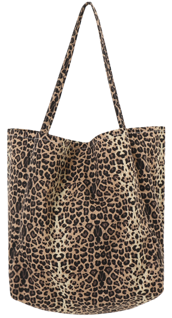 Leopard Cotton Eco Bag