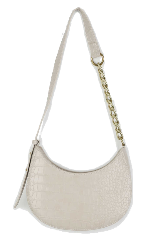 Harper animal pattern chain shoulder bag