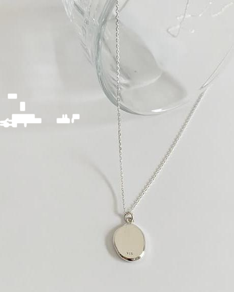 (silver925) annual necklace