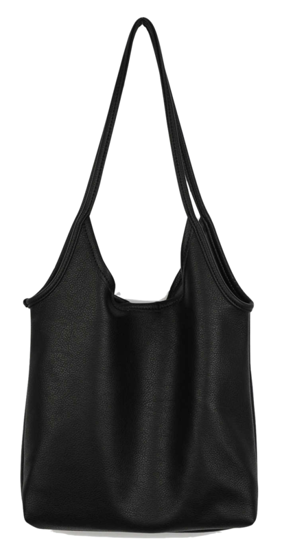 Soft basic shoulder bag