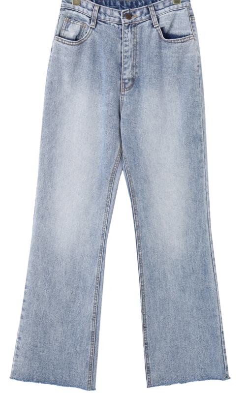 Clay denim trousers