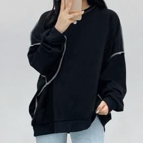 Over Lock sweat shirt