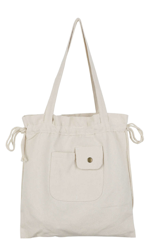 Pomi-string cotton eco bag