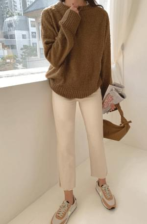 Natural Cut Straight Pants pants
