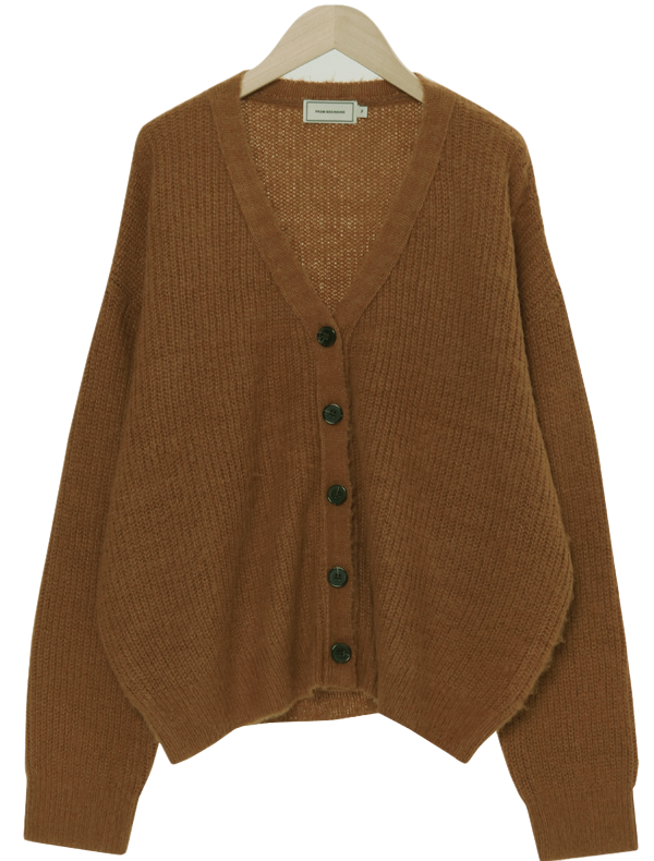 Butter Loose Fit Golf Cardigan