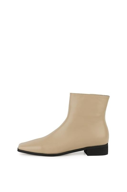 Bake middle heel ankle boots 靴子