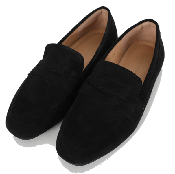 Normal suede loafers