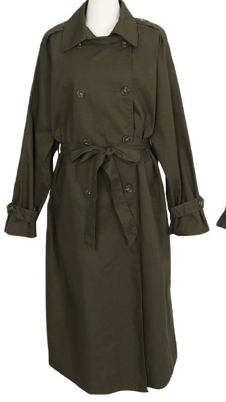 Artina Long Trench Coat