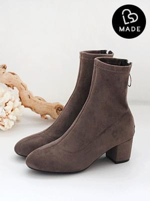Back Goddess Socks Ankle Boots 5cm