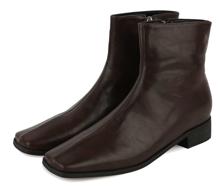 Bake middle heel ankle boots