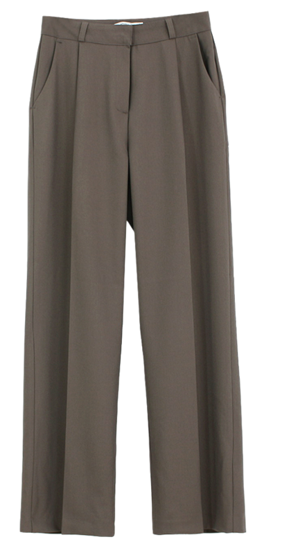 Autumn pintuck slacks; Short length